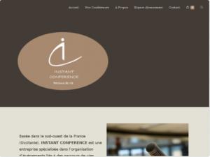 Création Site internet organisateur de conférences